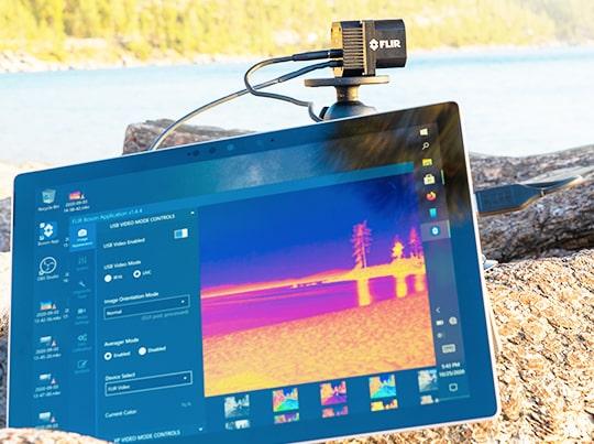 FLIR ADK Thermal Camera at Lake Tahoe