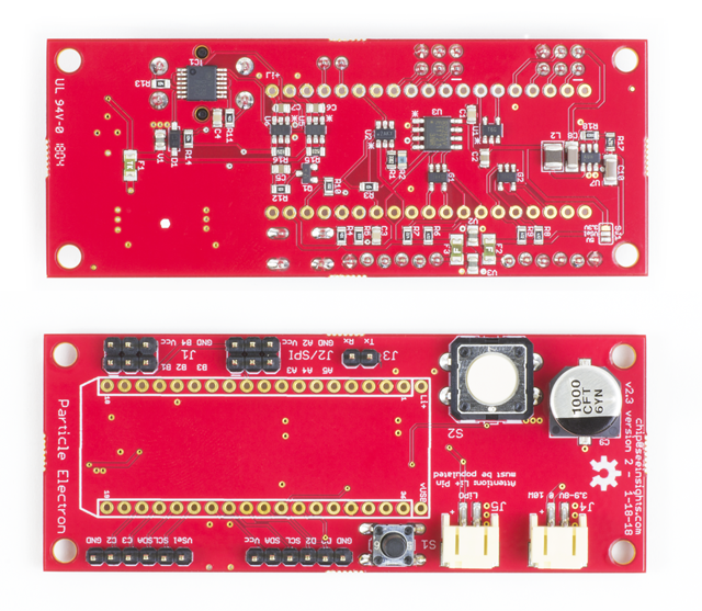 Board front and back