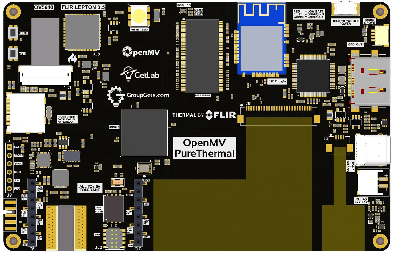 PureThermal OpenMV Render