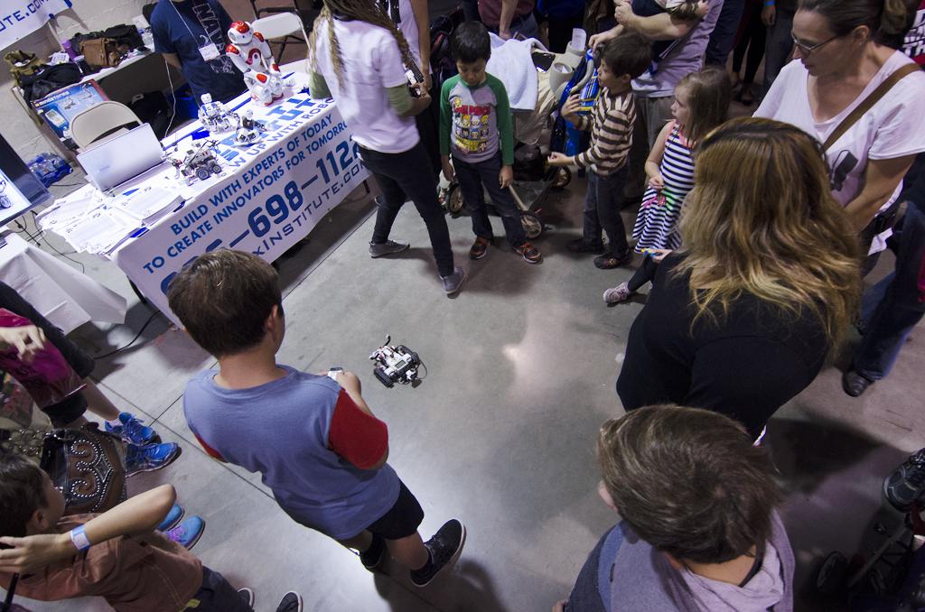 SoCal MakerCon robot