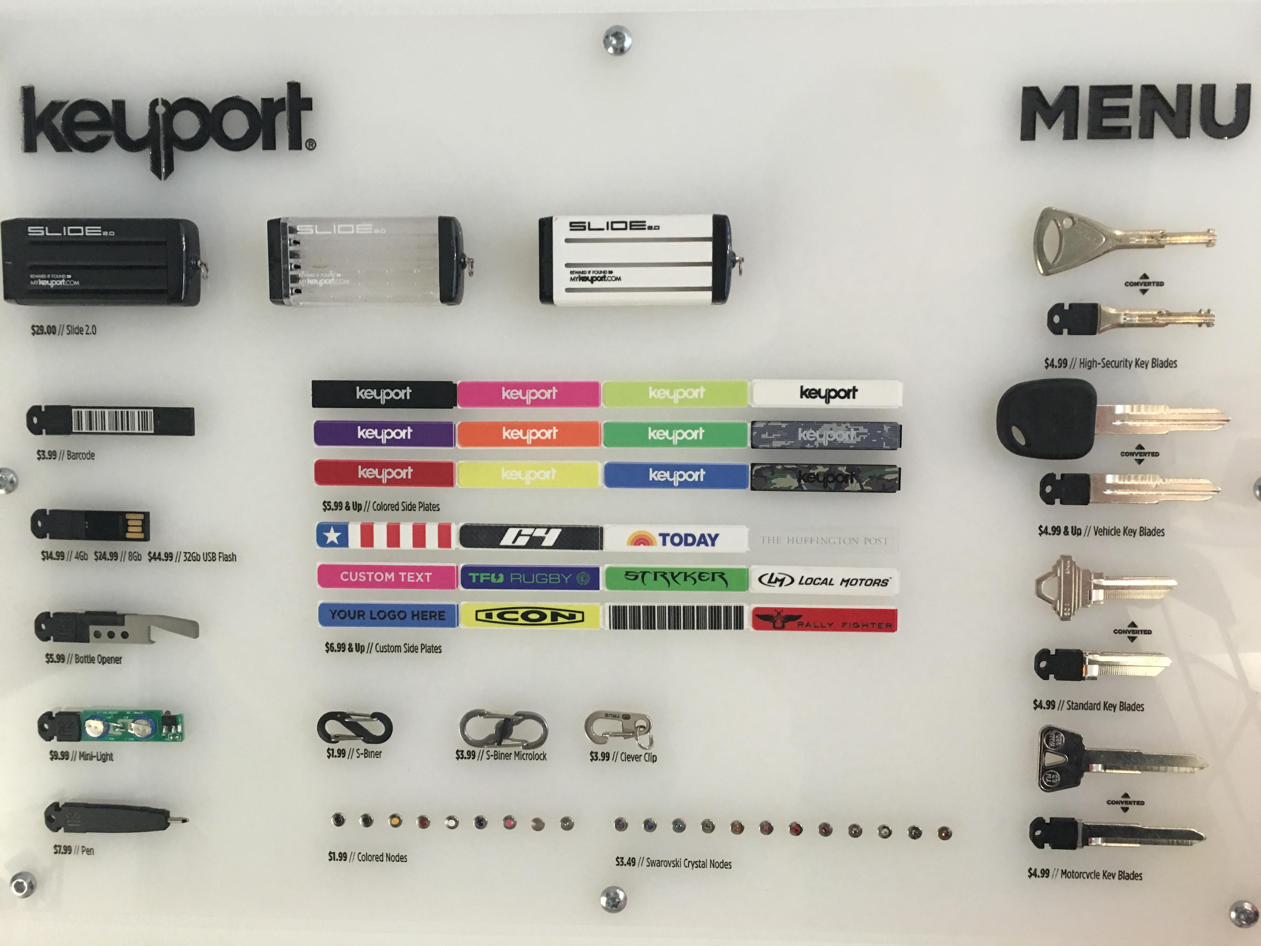 KeyPort Wall