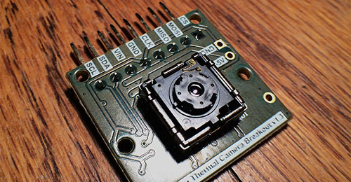 Banner image of lepton and breakout board