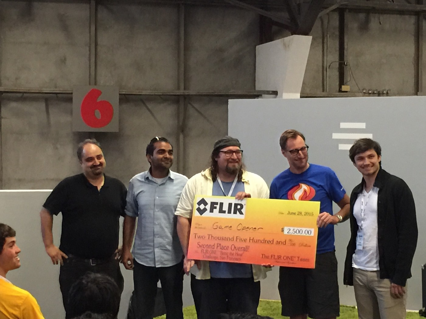 Winners of the FLIR hackathon