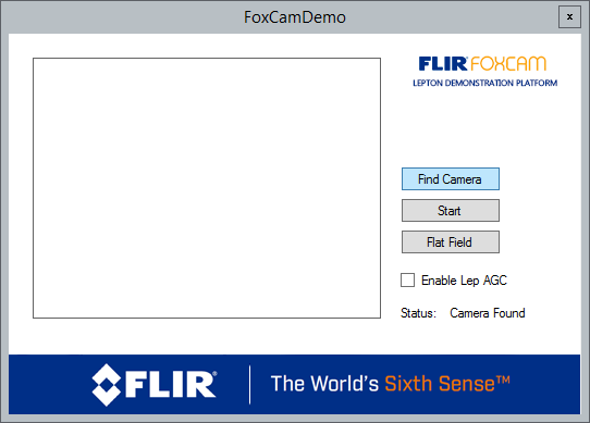 Foxcam demo software