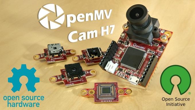 OpenMV Cam H7 KickStarter