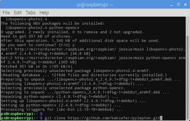Pylepton Git