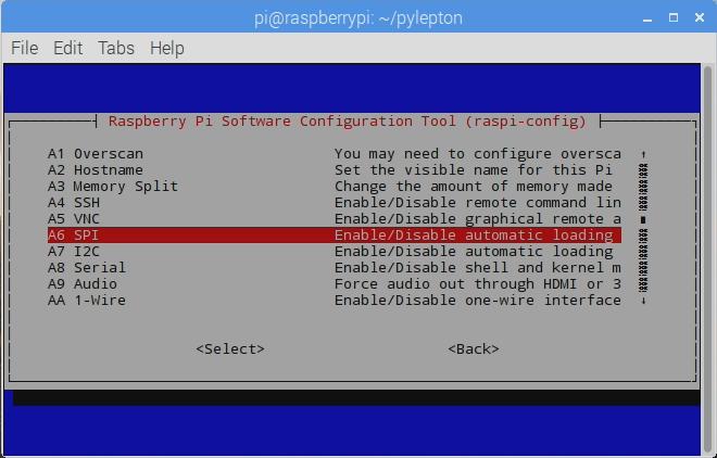 enable spi