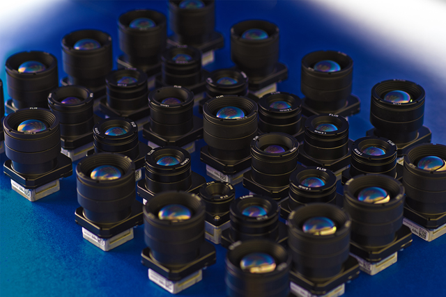 Many Boson Cameras