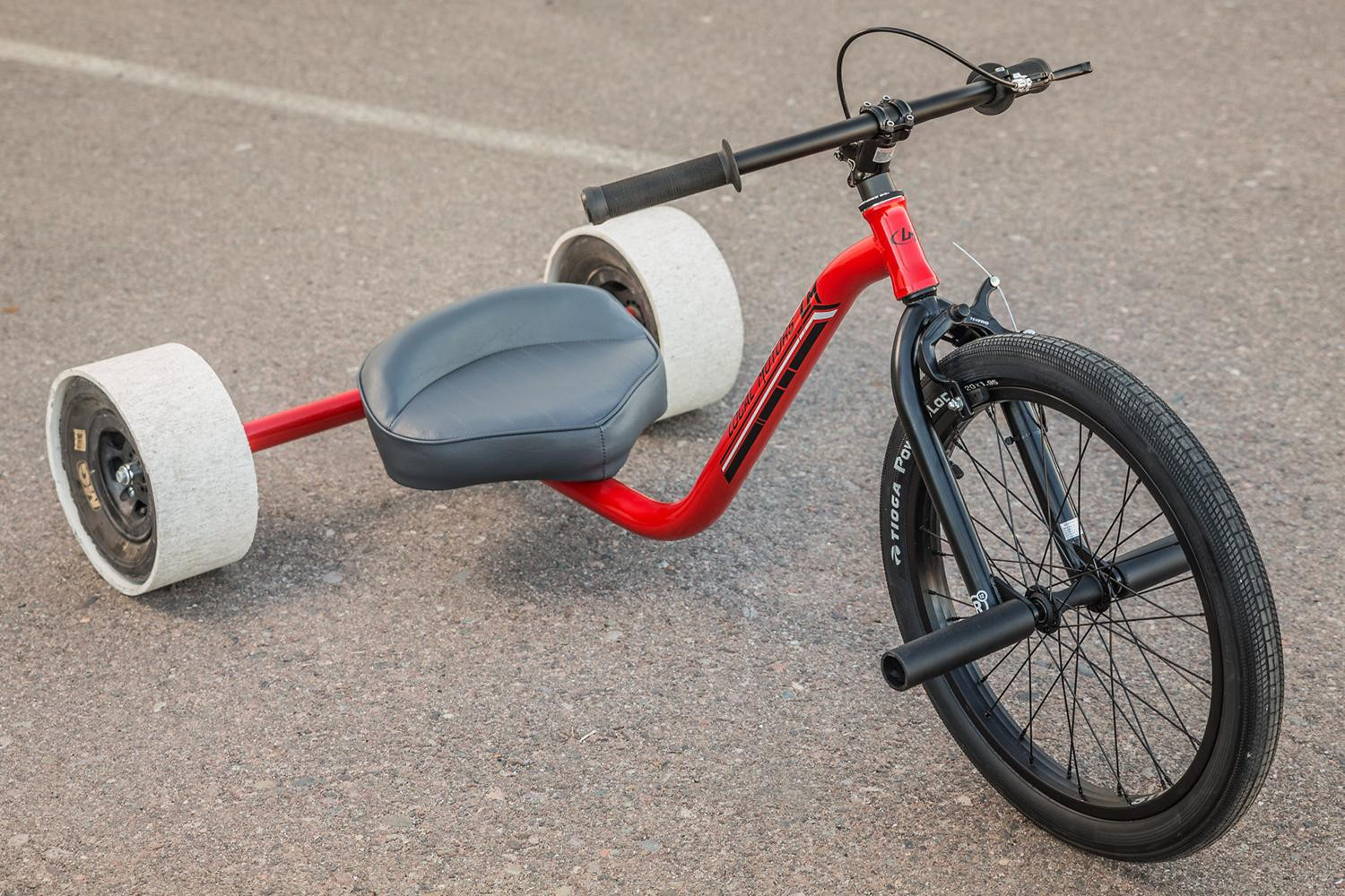 Red Drift Trike