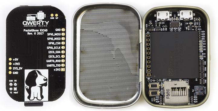 PocketBone Back & in Altoid Tin